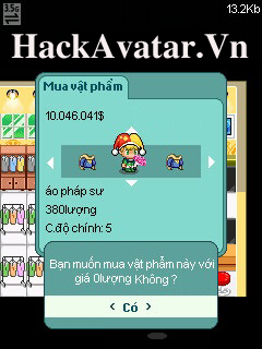 hack shop avatar